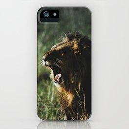 Masai Mara National Reserve V iPhone Case