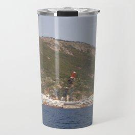 Wreck Of The Costa Concordia Travel Mug