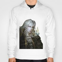 castlevania Hoodies featuring Alucard. Castlevania Symphony of the Night by Nell Fallcard