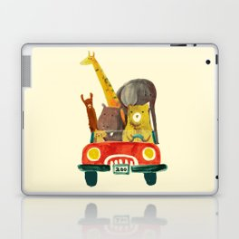 Visit the zoo Laptop & iPad Skin