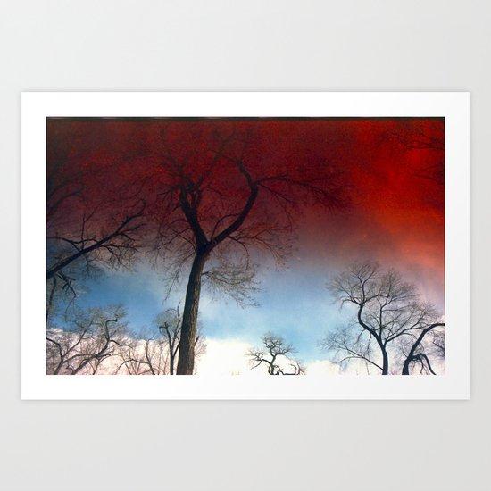 Skybloods Art Print