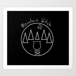Mountain Witch Art Print