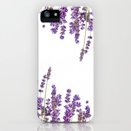Purple Lavender #2 #decor #art #society6 iPhone Case