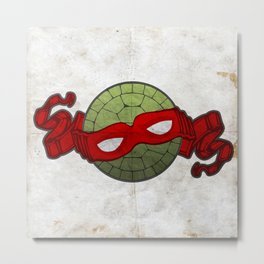 the red turtle Metal Print