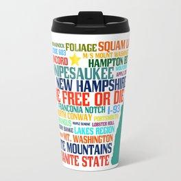 New Hampshire Native Travel Mug