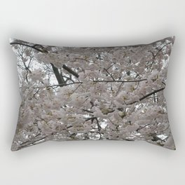 Tidal Basin Blossoms Rectangular Pillow