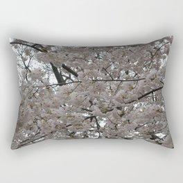 Tidal Basin Blossoms Rectangular Pillow