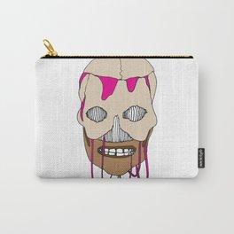 Skull Head Street Art Design Carry-All Pouch
