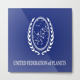 United Fed of Planets II Metal Print