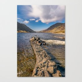 Llyn Cowlyd Snowdonia Canvas Print