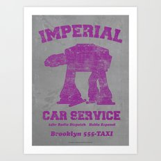 Imperial Car Service Art Print