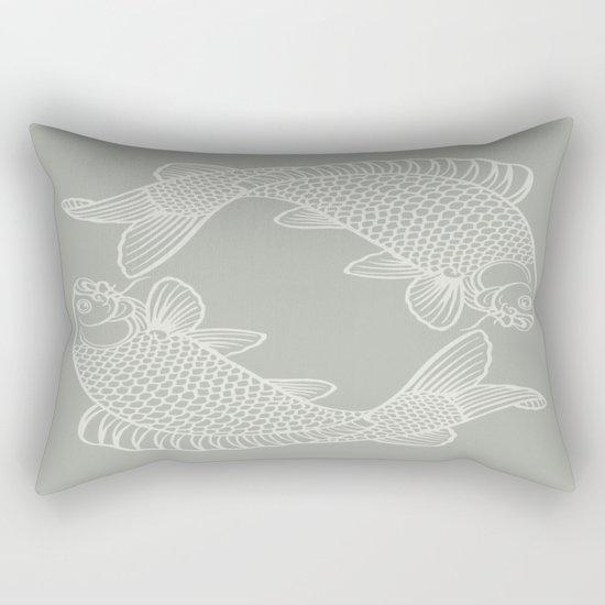 Oyster Bay Koi Rectangular Pillow