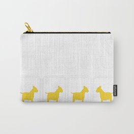 Bull Terrier Stubborn Tricks copy Carry-All Pouch