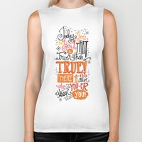 dr seuss Biker Tanks featuring TODAY YOU ARE YOU... - DR. SEUSS by Matthew Taylor Wilson