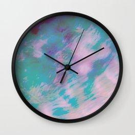 Abstract Motion Wall Clock