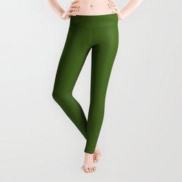 Floral Refreshment ~ Real Green Leggings