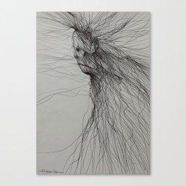 Dark fantasy/horror artwork by Gareth Walsh Canvas Print