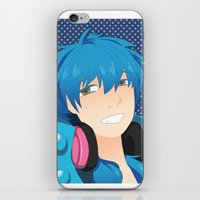 dmmd iPhone & iPod Skins featuring Aoba by Liyu