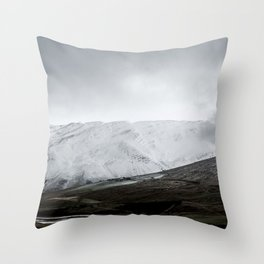 September snow Throw Pillow