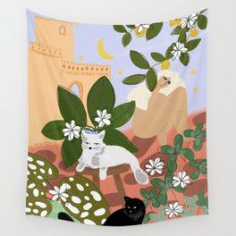 Summer in Paradise Wall Tapestry
