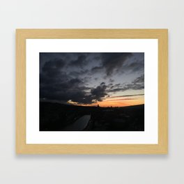 Sunrise in Georgia // #TravelSeries Framed Art Print