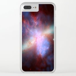 Galaxy Messier Clear iPhone Case