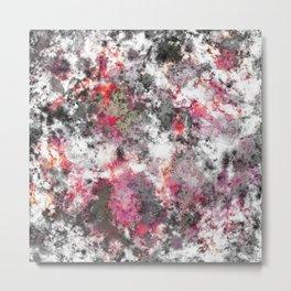 Frosty pink Metal Print