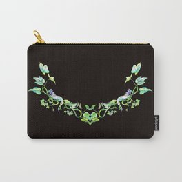 Dragons and English Ivy Carry-All Pouch