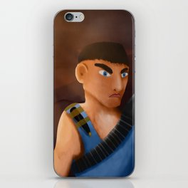 Battle of pencil iPhone Skin