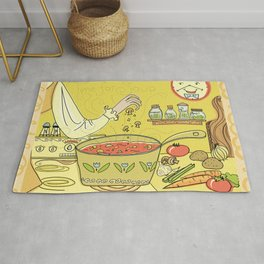 Time For Soup Rug