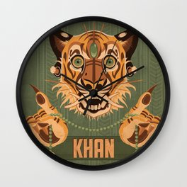 Shere Khan Wall Clock