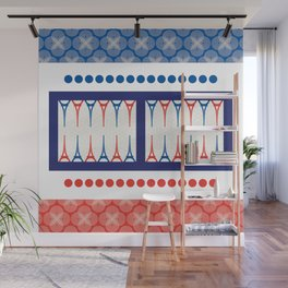 Backgammon – it's a GAME Wall Mural