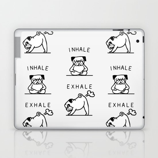 Inhale Exhale Pug by pugsgym