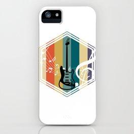 Retro Bass Guitar iPhone Case