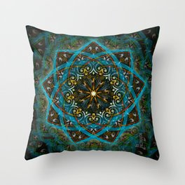Struggling emergence Throw Pillow