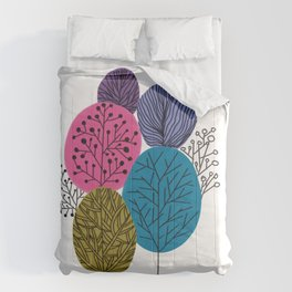 Forest Tree Comforters