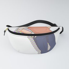 Golf Ball Square Boy Handicap Caddy sports gift Fanny Pack
