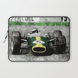 Jim Clark on Lotus Laptop Sleeve