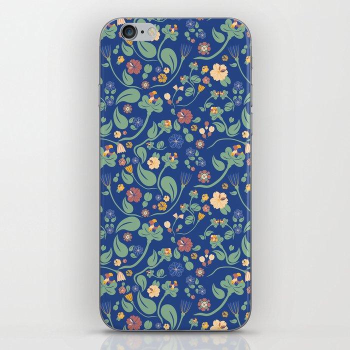 Scandinavian paisley iPhone Skin