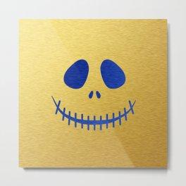 jack skellington Metal Print