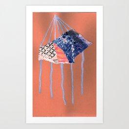 paradigm drips Art Print