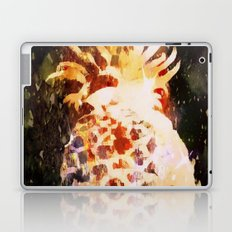 Pineapple in Space Laptop & iPad Skin