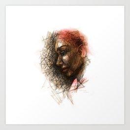 Sketch1 Art Print
