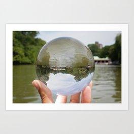 Lens Ball- Boathouse Art Print