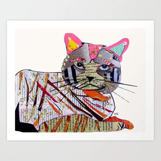 whiskers (cats Art Print
