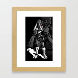 Vigilante Girl Framed Art Print