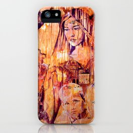 Telse and Magdalena or the question: how free is a Dithmarscher? iPhone Case
