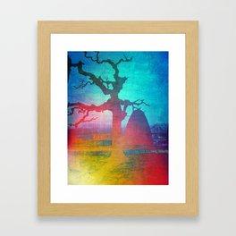 Sasha's Tree Framed Art Print