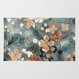 Fading Colors Rug