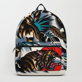 Traditional tiger Backpack
